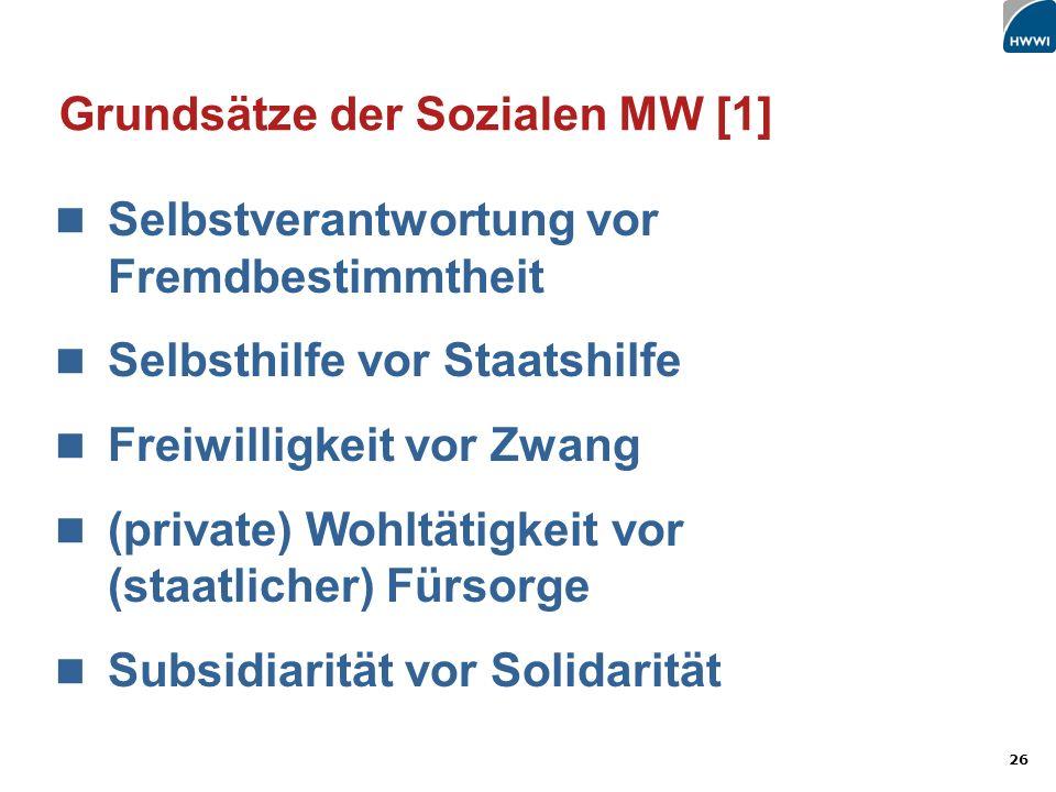 Grundsätze der Sozialen MW [1]